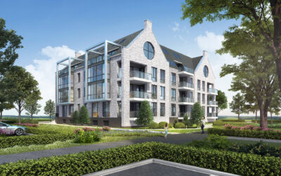 Start bouw 23 appartementen project de Residentie