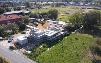 Voortgang vrijstaande villa te Gorinchem