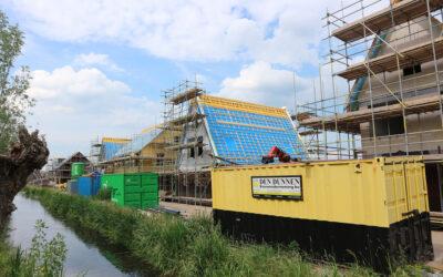 1e kopersdag project Tentweg te Stolwijk