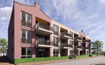 Opdracht bouw 14 appartementen Bergambacht