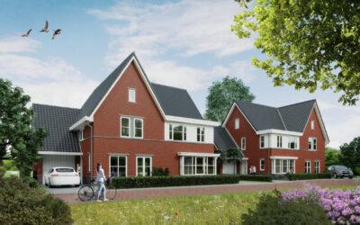 8 woningen project de Laantjes opgeleverd